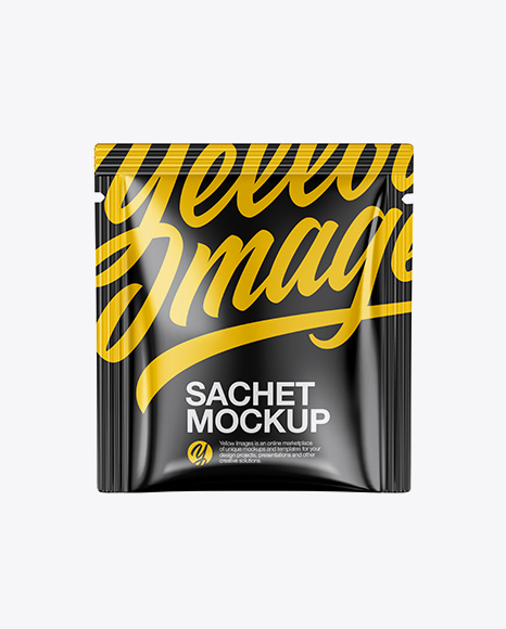 Download Glossy Sachet Mockup Object Mockups