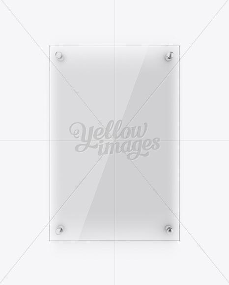 Psd Free Glass Door Mockup