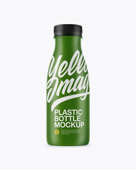 Download Matte Plastic Dairy Bottle Mockup Object Mockups