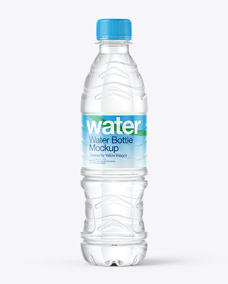 500ml PET Water & Drink Bottles