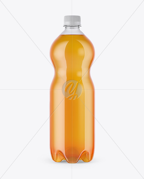 Download Textured Plastic Bottle With Red Drink Mockup PSD - Free PSD Mockup Templates