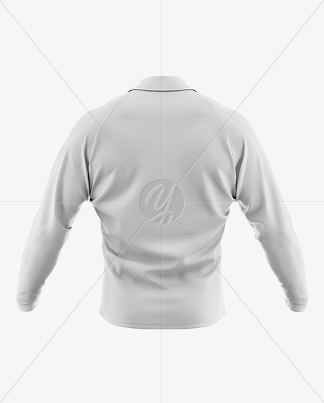 Download Mens Cycling Skinsuit Ls Mockup Back View Yellowimages