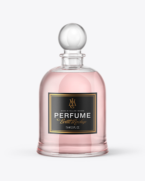 Download Glass Perfume Bottle Mockup Object Mockups