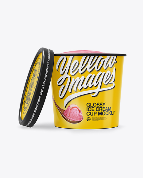 Ice Cream Mockup