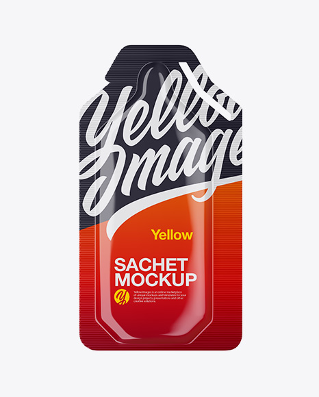 Download Glossy Food Sachet Mockup PSD - Free PSD Mockup Templates