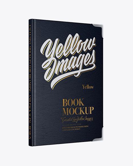 Leather Book Mockup
