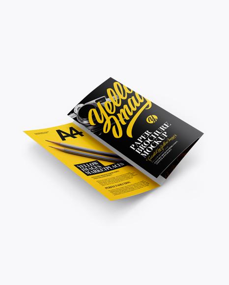 A4 Folded Brochures Set