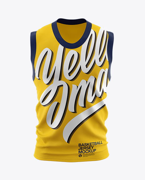 Download Basketball Jersey Mockup - Front View Object Mockups