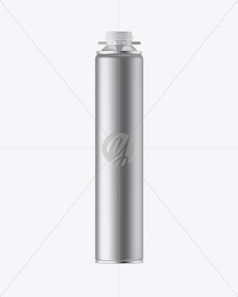 750ml Metallic Pu-Foam Tube Mockup