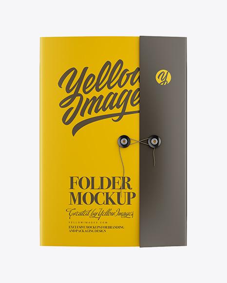 Folder Mockup Psd Free Download