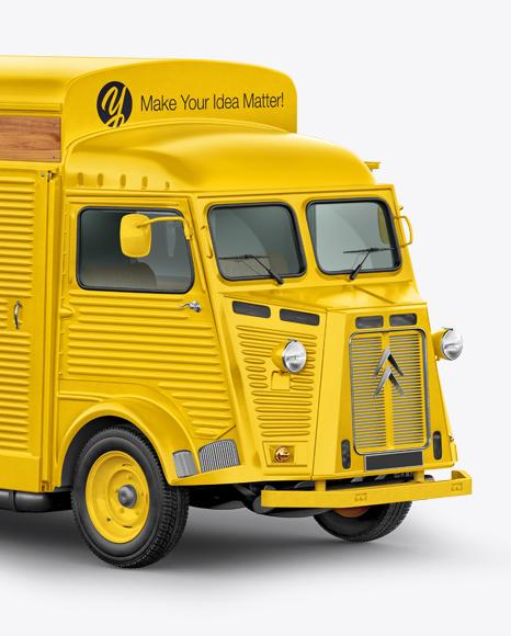 Citroen Hy Van Food Truck
