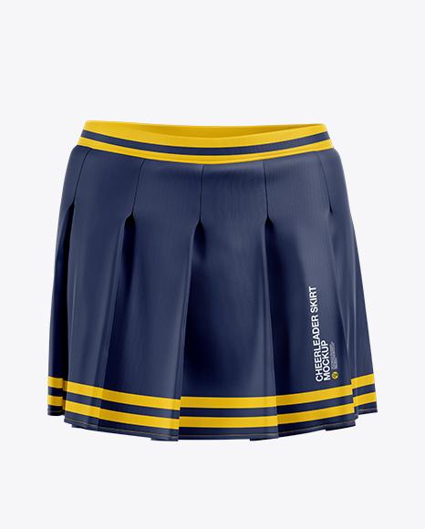 Сheerleader Skirt Mockup