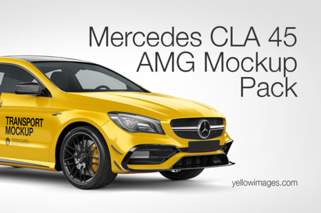 Download Popular Vehicle Mockups On Yellow Images Creative Store Yellowimages Mockups