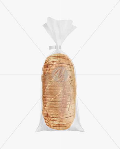 Download Glossy Transparent Bread Package With Clip Mockup In Packaging Mockups On Yellow Images Object Mockups PSD Mockup Templates