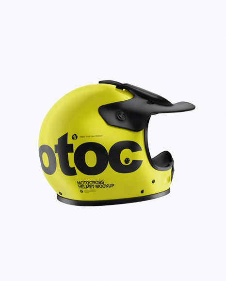 Download Ski Helmet Mockup Side View Yellowimages