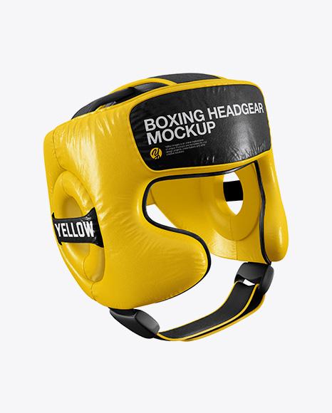 Download Boxing Headgear Mockup - Half Side View Object Mockups
