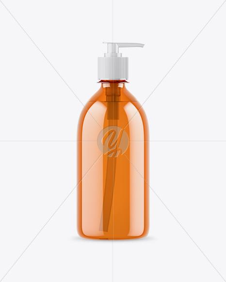 Download Amber Soap Bottle Mockup PSD - Free PSD Mockup Templates