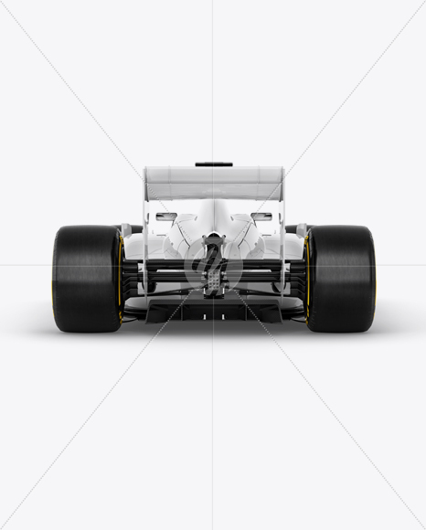 McLaren Formula 1 Mockup - Back view