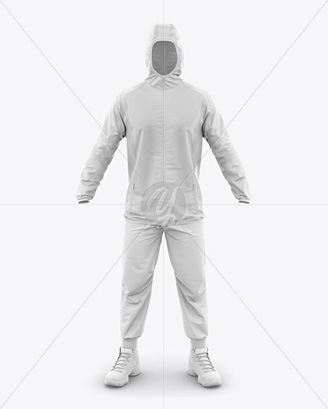 Men's Sport Suit Mockup - Front View