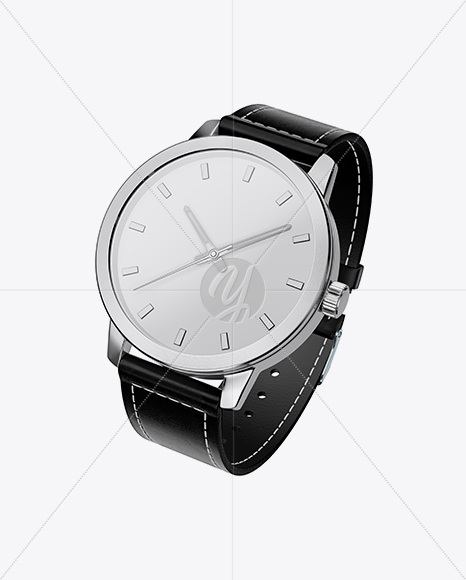 Watches Mockup - Half Side View