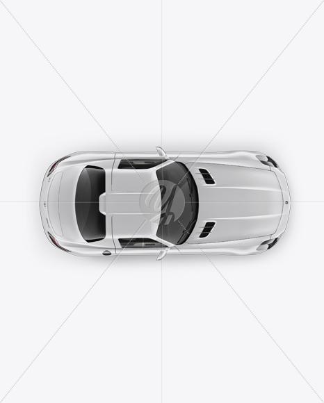 Mercedes-Benz SLS AMG Mockup - Top View