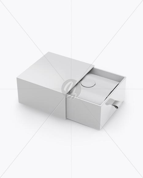 Download Nasal Spray Box Mockup 70a0 Angle Back View High Angle Shot PSD - Free PSD Mockup Templates