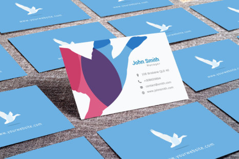 Download Square Business Card Mockup Free PSD - Free PSD Mockup Templates