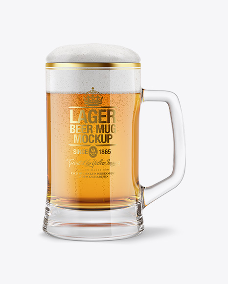 Download Lager Beer Mug Mockup Object Mockups
