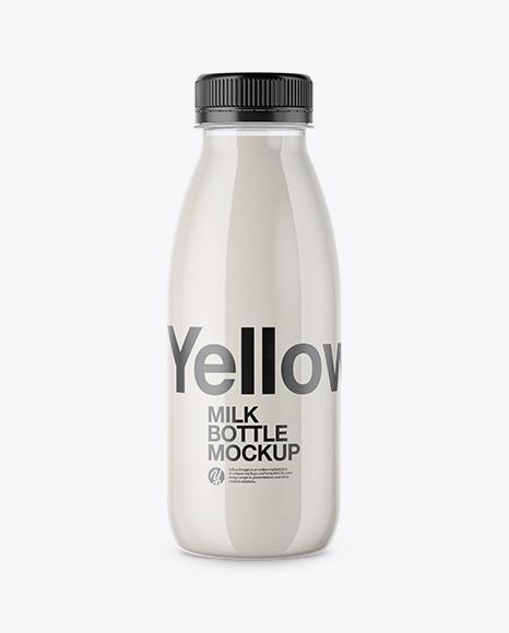 Download Milk Bottle Packaging Mockup PSD - Free PSD Mockup Templates