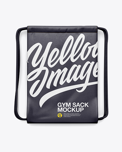 Download Gym Sack Mockup Yellow Images