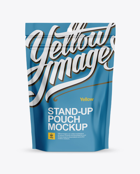 Stand Up Pouch with Zipper Mockup