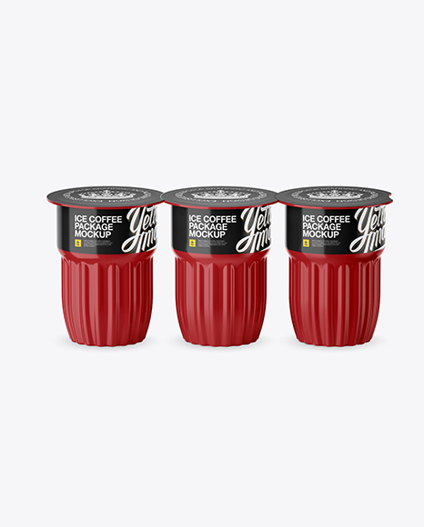 Download Glossy Plastic Soda Cup With Ice Mockup PSD - Free PSD Mockup Templates