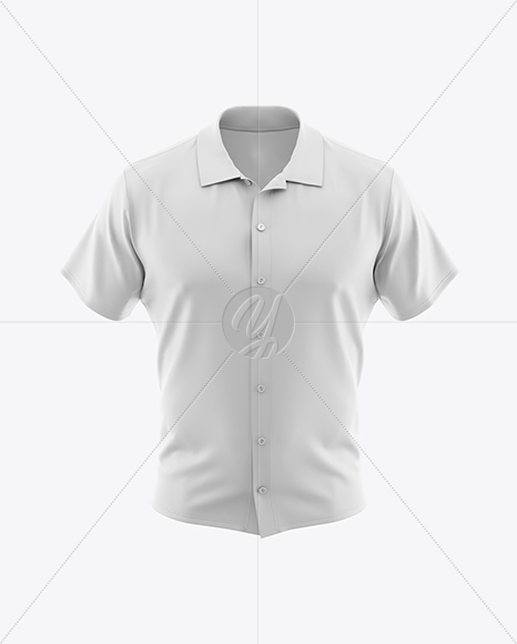 Download Men S Polo Shirt Mockup Front View In Apparel Mockups On Yellow Images Object Mockups PSD Mockup Templates