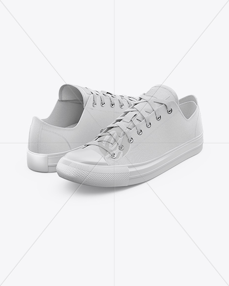 Download Sneaker Mockup Half Side View Yellowimages