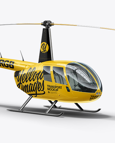 Flying Robinson R44 Raven Helicopter