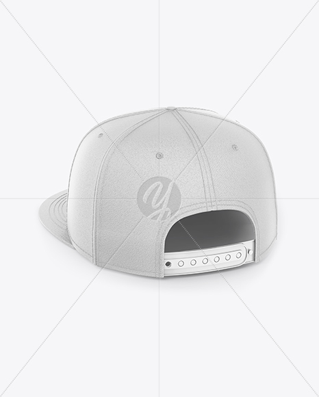 Download Snapback Cap Mockup Left Side View Yellowimages