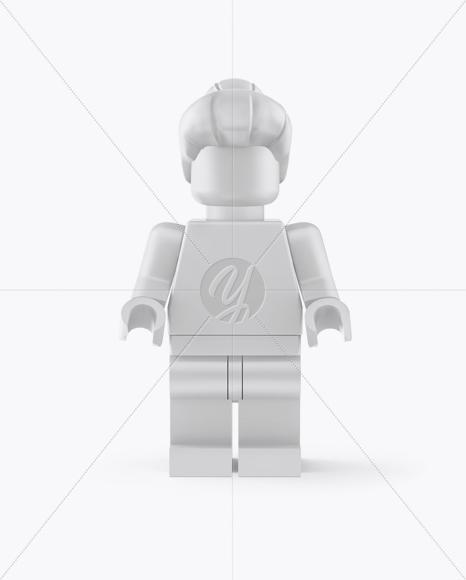Grandmother Mini Figure Mockup