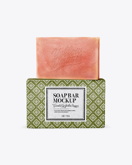 Pack With Soap Mockup