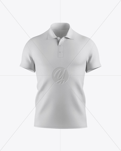 Download Mens Polo Mockup Front View Yellowimages