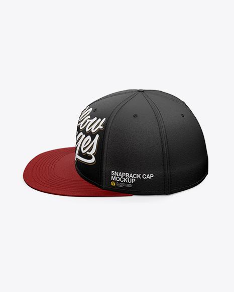 Snapback Cap Mockup [2]