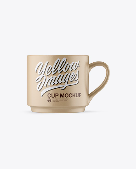Cup Mockups - Front View
