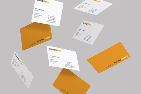 Download Branding Identity Mock Ups Templates In Stationery Mockups On Yellow Images Creative Store PSD Mockup Templates