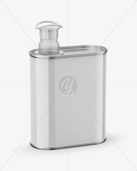 Download Opened Matte Tin Box Mockup High Angle Shot PSD - Free PSD Mockup Templates