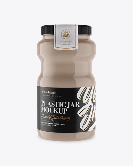 Download Plastic Jar Mockup Object Mockups