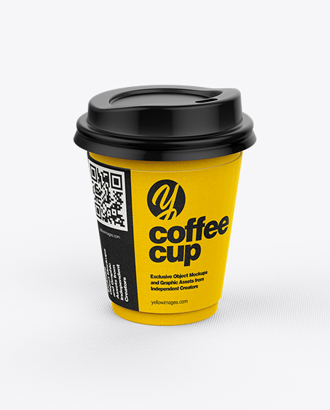Coffee Cup With Sleeve Mockup