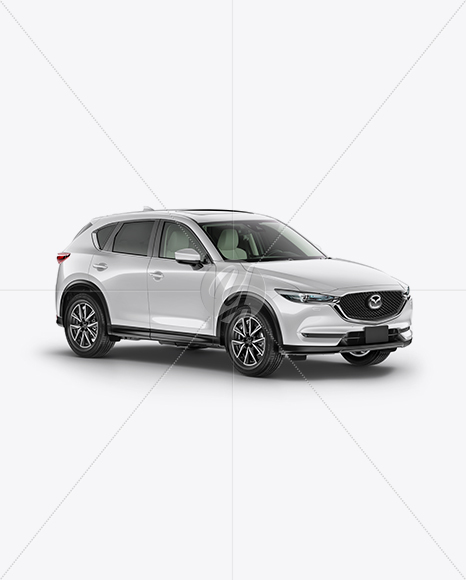 Mazda CX-5 Mockup - Half Side View