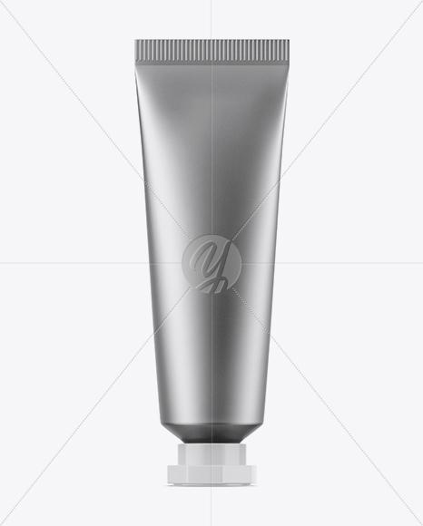 Download Opened Metallic Lip Balm Tube Mockup PSD - Free PSD Mockup Templates