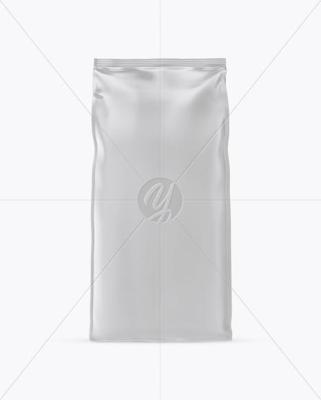 Download 16oz Glossy Coffee Bag Mockup Front View PSD - Free PSD Mockup Templates