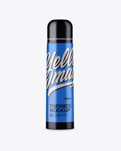 Metallic Thermos
