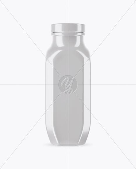 Glossy Drink Bottle Mockup In Bottle Mockups On Yellow Images